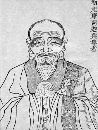 Sơ Tổ Ma Ha Ca Diếp (Mahakasyapa; kāśyapa) 第 一 祖 摩 訶 迦 葉 尊 者