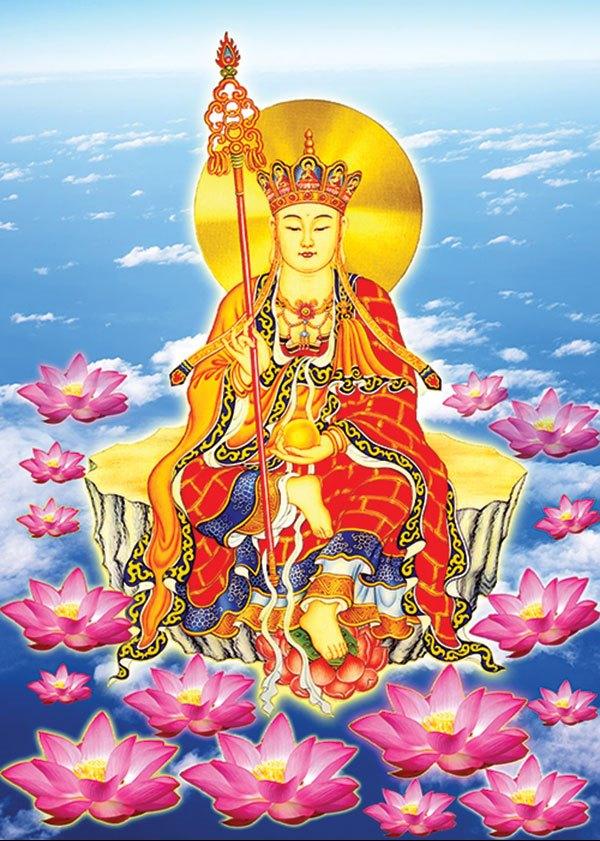 Địa Tạng Vương Bồ Tát - Ngài Giáo chủ Cõi U Minh