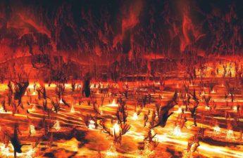 Cảnh địa ngục đáng sợ