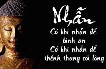 Lời Phật dạy sâu sắc về việc nhẫn nhịn trong cuộc sống