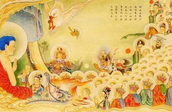 Theo Quán Kinh Sớ, thì người nghịch ác mà được vãng sinh, là do khi lâm chung, kẻ ấy chí tâm niệm Phật, nên tội chướng được tiêu trừ.