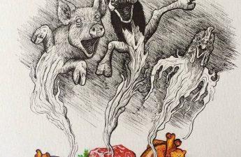 Vong linh các loài vật bị sát sinh hay ăn thịt thường bám theo người hại chúng