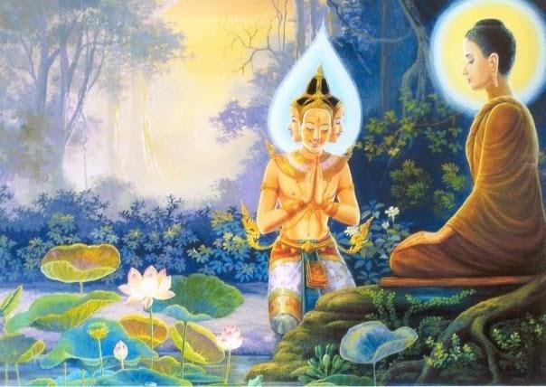 Sự chấn động của các cõi giới trong thời khắc Đức Phật thành đạo