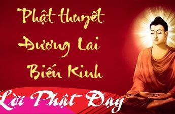 Phật thuyết Đương Lai Biến Kinh giảng ký lão hòa thượng Tịnh Không