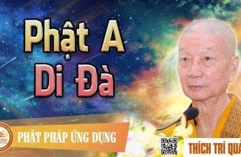 Cảm niệm Đức Phật A Di Đà - HT Thượng Trí Hạ Quảng