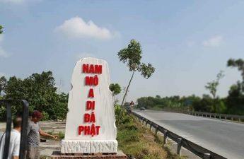 Khắc chữ A Mi Đà Phật nơi thường xảy ra tai nạn