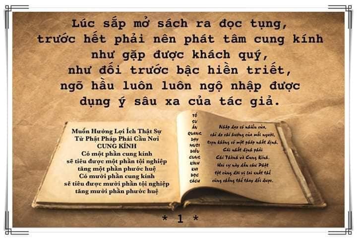 Đọc tụng Kinh phải rõ ràng phân minh
