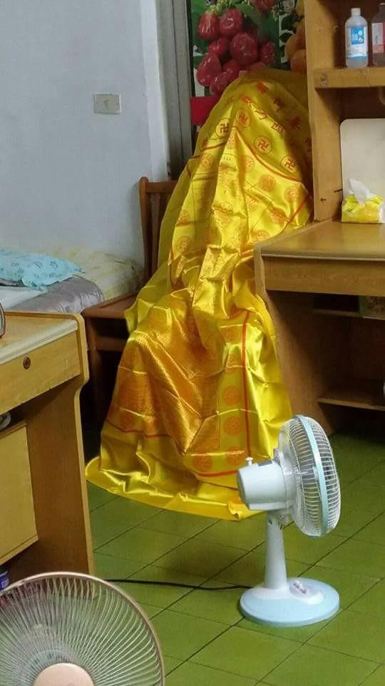 Lão cư sỹ Phan Lâm Kỳ Phan ngồi tự tại Vãng Sanh