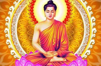 Đức Phật ngồi tòa sen