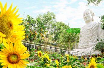 Tượng Đức Phật ở Thiền Tôn Phật Quang