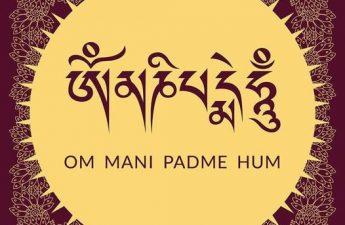 Om Mani Pad Me Hum của Quan Thế Âm Bồ Tát