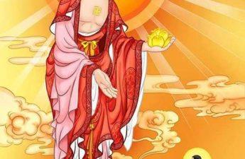 Đức Phật A Mi Đà tiếp dẫn
