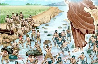Vì nghiệp của con người bất đồng nên thời tiết thất thường khi mưa, khi hạn. Nếu các người biết khởi Tâm Từ Bi thì trời sẽ mưa thuận gió hoà, nước sông sẽ dâng cao, ruộng đồng sẽ xanh tốt...